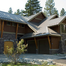 Traditional Exterior by Six Walls Interior Design