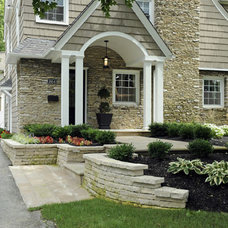 Traditional Exterior by J.S. Brown & Co.
