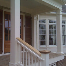 Traditional Exterior by Akin Construction Co., LLC