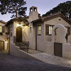 mediterranean exterior by Claudio Ortiz Design Group, Inc.