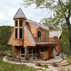 Eclectic Exterior by Architectural Building Arts, Inc.
