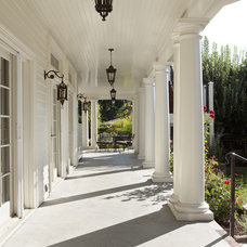 Traditional Exterior by Arch Studio, Inc.
