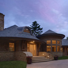 Eclectic Exterior by John Kraemer & Sons