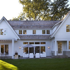 traditional exterior by Charlie Simmons - Charlie & Co. Design, Ltd.