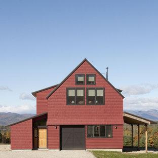 Exterior - barn door closed