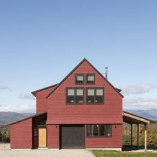 Farmhouse Exterior by Kaplan Thompson Architects