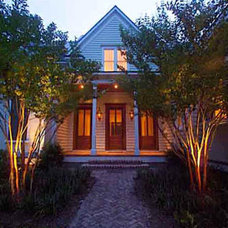 Traditional Exterior by Bill Huey + Associates