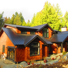 Contemporary Exterior by Black Tree Developments Ltd.
