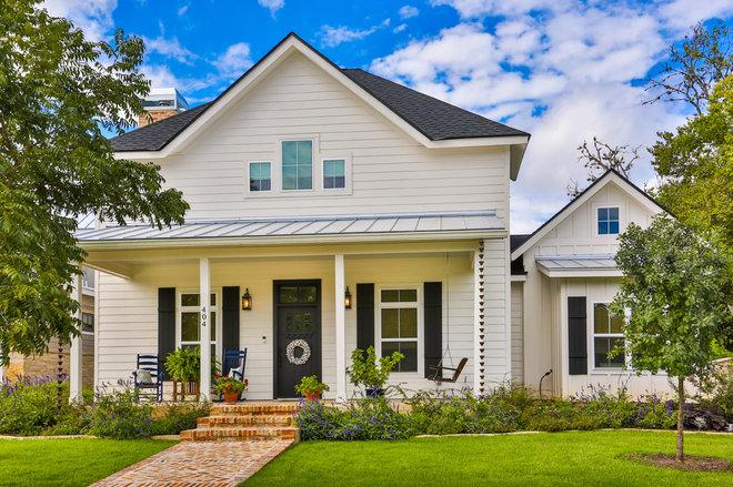 Farmhouse Exterior by BCI Custom Homes