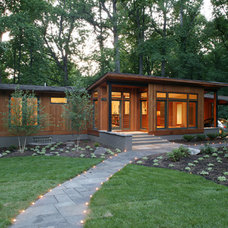 Modern Exterior by Brennan + Company Architects