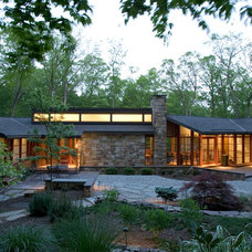 Contemporary Exterior by Lasley Brahaney Architecture + Construction