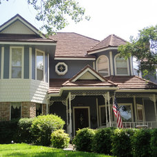 Traditional Exterior by CertaPro Painters Richardson TX