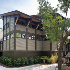 Contemporary Exterior by Christopher A Rose AIA, ASID