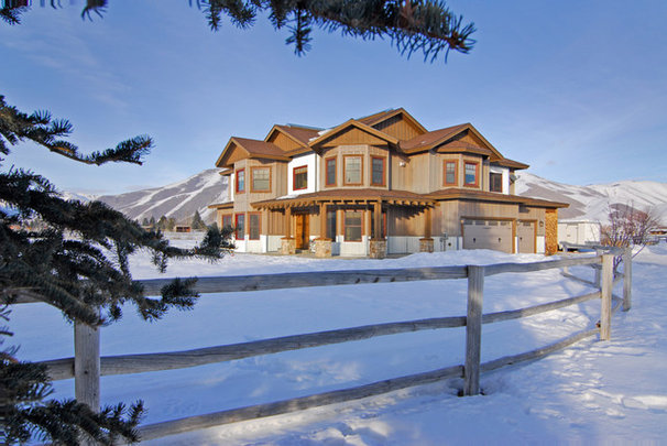 Rustic Exterior by Clearview Construction Group, LLC