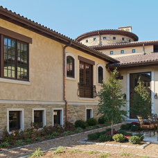 Mediterranean Exterior by RWA Architects