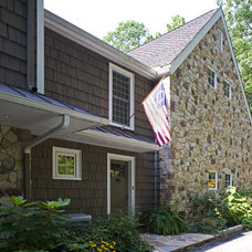 Traditional Exterior by Current Works Construction Inc.