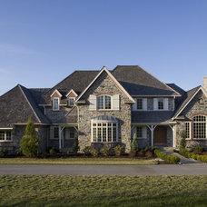 Traditional Exterior by Cushing Custom Homes, Inc.