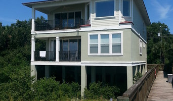 Exterior custom painting, Villano Beach 2013.
