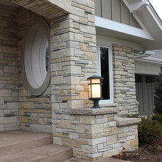 Traditional Exterior by Brickhouse Architects PLLC