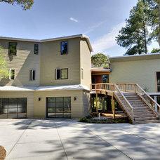 Contemporary Exterior by Echelon Custom Homes