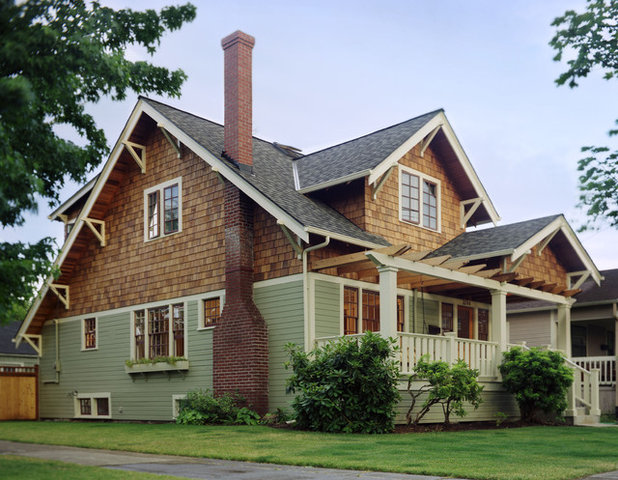 Traditional Exterior by Emerick Architects