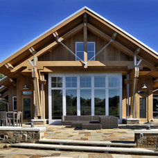 Farmhouse Exterior by AMDG Architects
