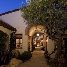 Mediterranean Exterior by Todd Peddicord Designs