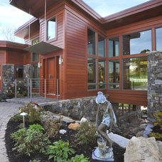Contemporary Exterior by McConnell & Ewing