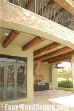 Faux Wood Beams Exterior Home Design Ideas Remodels Photos