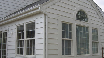 Exterior finishing of an Addition