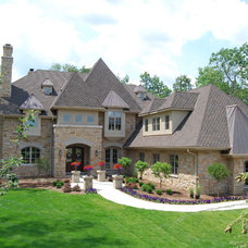 Traditional Exterior by Forest Ridge Construction Inc