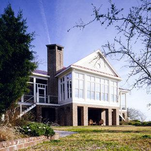 Exempel på ett klassiskt trähus