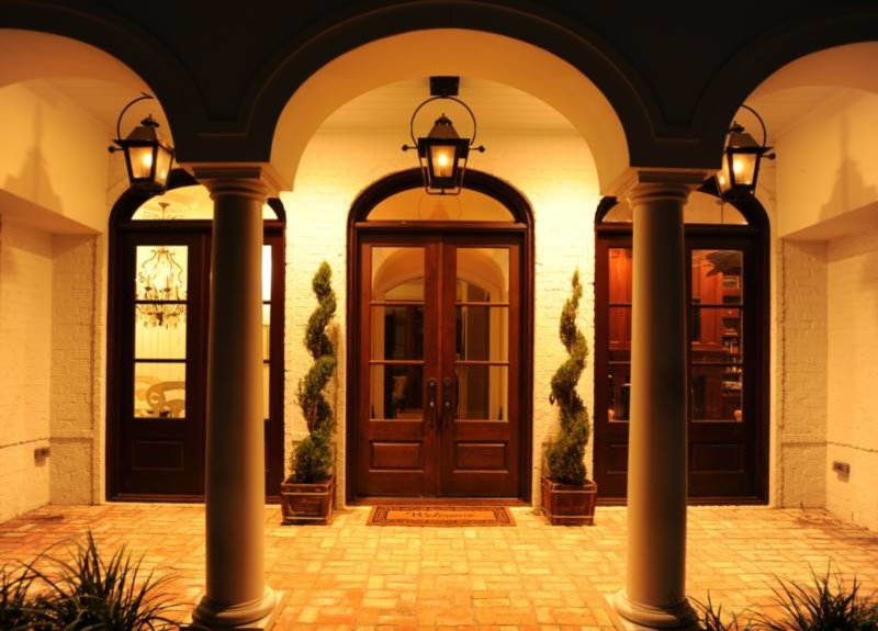 Exterior French Door Entry