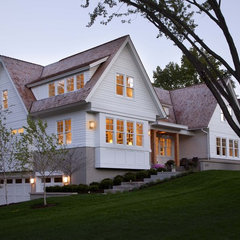 contemporary exterior by Charlie Simmons - Charlie & Co. Design, Ltd.