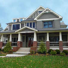 Craftsman Exterior by Cypress Hill Development LLC
