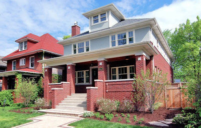 Roots of Style: The Eclectic American Foursquare
