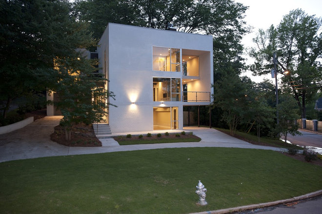 Modern Exterior by FrontPorch