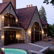 Traditional Exterior by Gabberts Design Studio