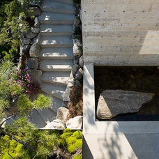 Contemporary Exterior by Garret Cord Werner Architects & Interior Designers