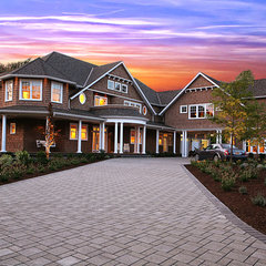 traditional exterior by Garrison Hullinger Interior Design Inc.