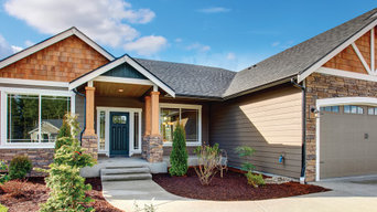 Exterior Gig Harbor New Construction