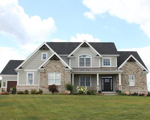 Foto e idee per arredare casa american style for Piani di case modulari con 2 master suite