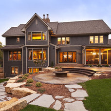 Contemporary Exterior by Hendel Homes