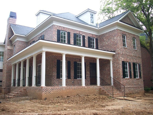 Traditional Exterior by Hickman Construction Company, Inc.