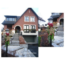 Traditional Exterior by Lisa Goulet Design