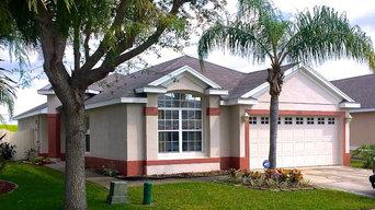Exterior Home Repaint-Orlando