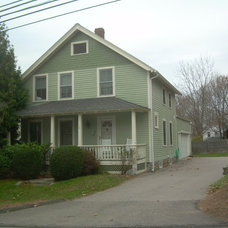 Traditional Exterior by CertaPro Painters of  Eastern CT