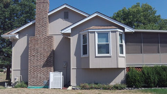 Exterior House Painting in KC Northland