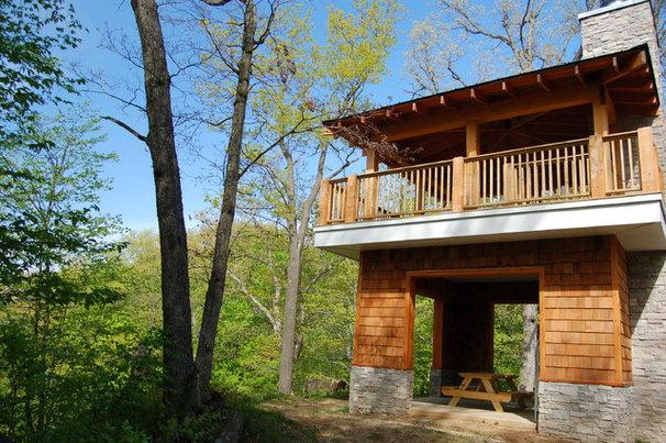 Traditional Exterior by Hibler Design Studio