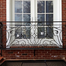 Eclectic Exterior by HMH Iron Design